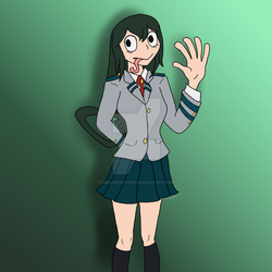 Tsuyu Asui [Request] by Dracocrochet