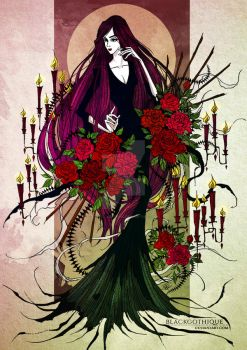 . Empress of the Goths . by baroquegothik
