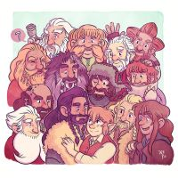 Thorin's Company by nerdeeart