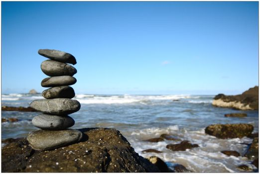 Stack of stones 2 by wildplaces