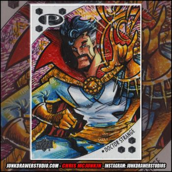 Marvel Premier Upper Deck Doctor Strange by ChrisMcJunkin
