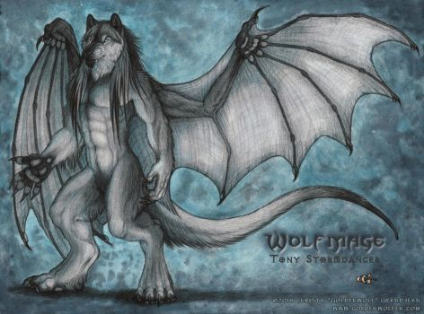Standing Tall by WolfmageX