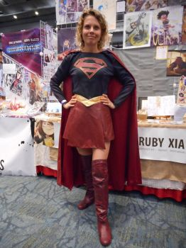 Supergirl Cosplay At Fan Expo 2017 by xkillerben5798x
