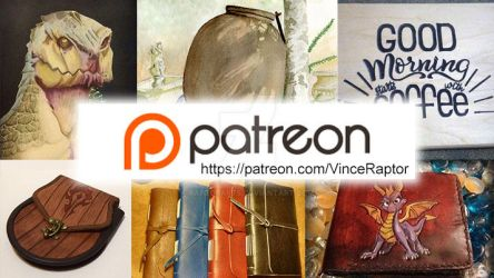 Check out my Patreon :) by RaptorArts
