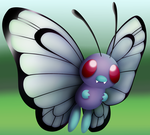 Pokemon Revamps: Butterfree by Susyspider