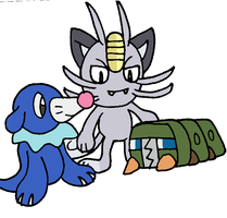 SAI: Popplio, Meowth and Charjabug