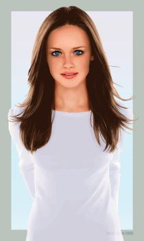 Rory Gilmore by bubblegumcandy16