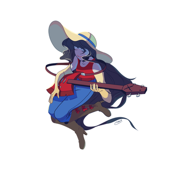 Marceline by Aluhnim