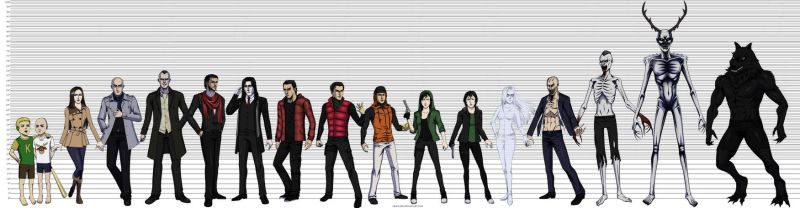 Height Chart by Grace-Zed