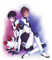 .:Klance:. Space Gays ! by DomesticPigeon