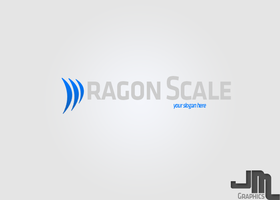 Dragon Scale Logo by J-MGraphics650