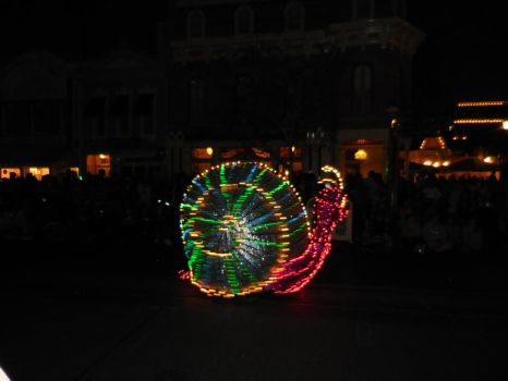 Main Street Electrical Parade: Snail by FlowerPhantom
