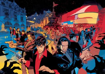 DYLAN DOG 371 Double Cover by GigiCave