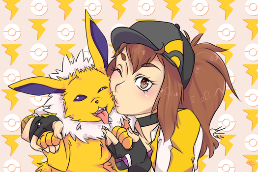 Yay_Yellow:. by RukusuCherry