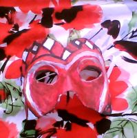 Queen Of Hearts Mask by 007Ashley