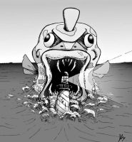 Feebas Attack by oohle