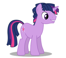 Twilight Sparkle Rule 63 by DragonChaser123