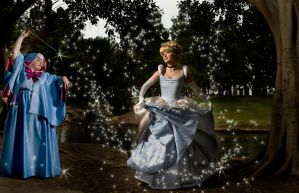Cinderella an Godmother 2 by trueenchantment