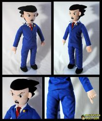 Phoenix Wright Plushie by Eyes5