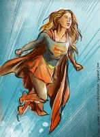 Supergirl CW Style by TheCosmicBeholder