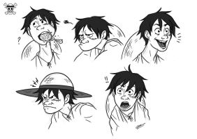 LUFFY by GrievousGeneral