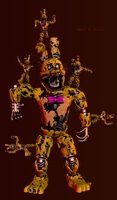 Basically Nightmare Spring Bonnie by Mixlas2