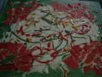 christmas colours abstract by loobyloukitty
