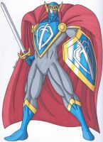 OCD- The Valiant Knight, the Noble Superhero by RobertMacQuarrie1