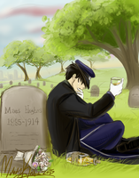 Raise a Glass, One Last Time by fluffpuffgerbil