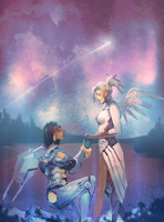 Overwatch:pharmercy by atutcha