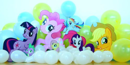 My little pony party standees by shuiichibrie