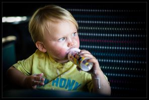 Ice Cream on a Steam Train by Wivelrod
