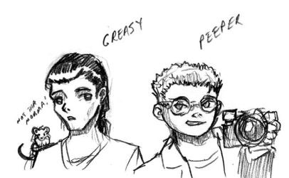 Whateley Peeper and Greasy by DPRagan
