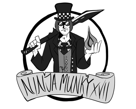 Ninja Munky XVII Commission by RichFox