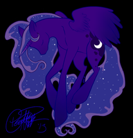 Princess Luna - My Little Pony:Friendship is Magic by LittleCrowe