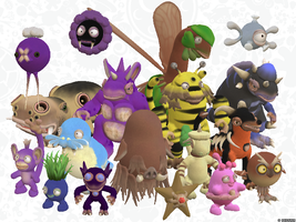 Spore Pokemon