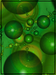 Greenish Globules by caffe1neadd1ct