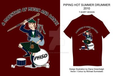Piping Hot Summer Drummer 2010 by mechangel2002