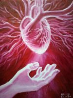 Giving a heart by CORinAZONe
