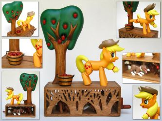 Applejack's Apple Harvest by renegadecow