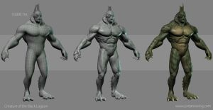 Creature from the Black Lagoon - Construction Shot by Dvolution