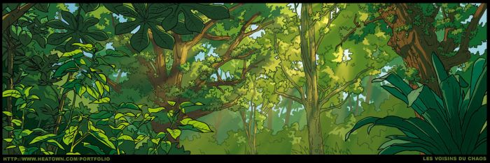 Forest by Tohad