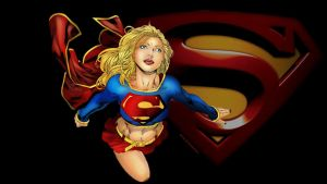 Supergirl Wallpaper Perfect Flight by Curtdawg53