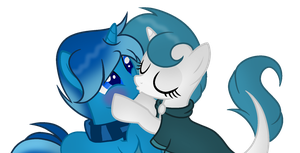 l + Commission 1/2 + l McPony1234 by Mintoria