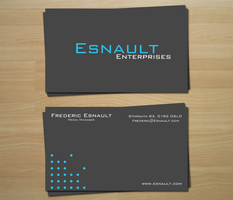 Business card by SimenEugen