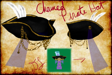MMD Chained Pirate Hat + DL by artimiss1238