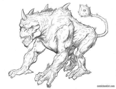 Monster Monday Volume 5 Number 1 - Cterex by Comicbookist