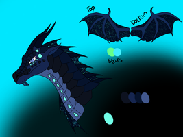 SeaWing/NightWing for Oasis by Darkumbreon92