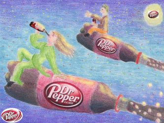 Dr.Pepper NY Mural Contest. by KavotofFire