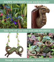 Holiday Sale 2016 by emilySculpts